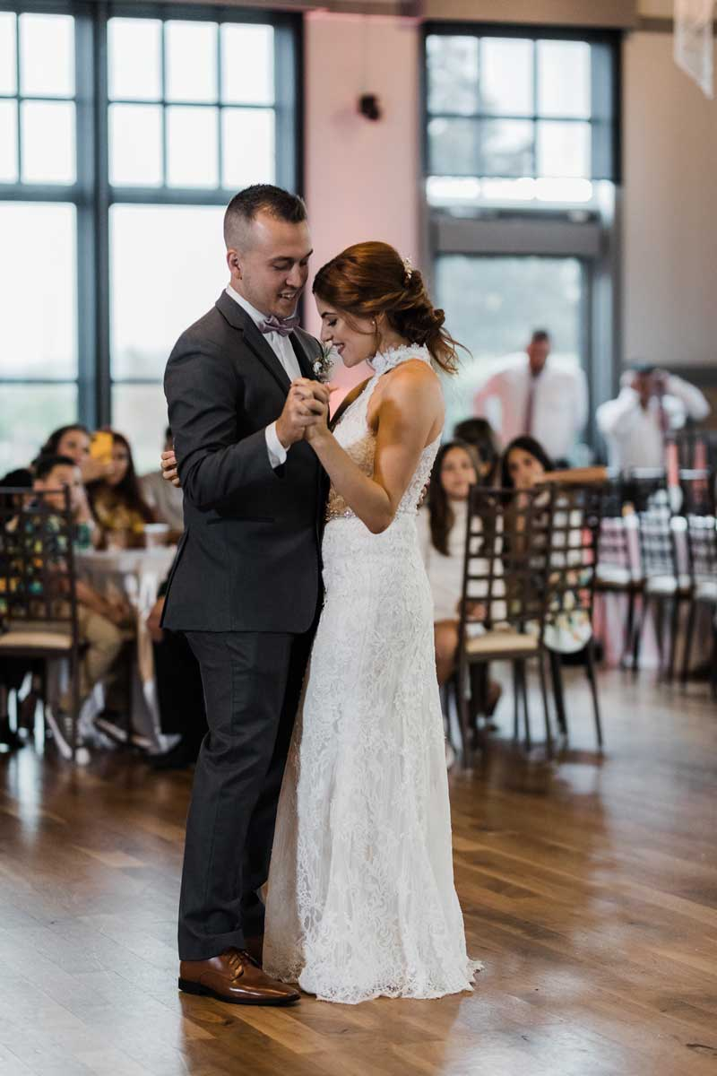 photo of the first dance