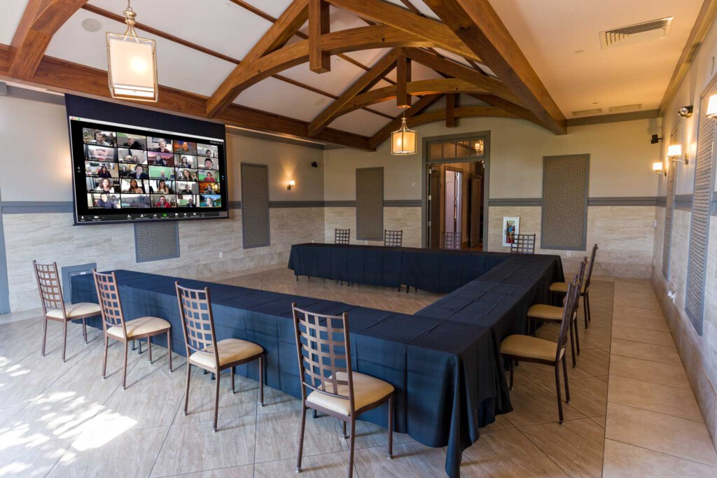 Hybrid Meetings are available at The ARK